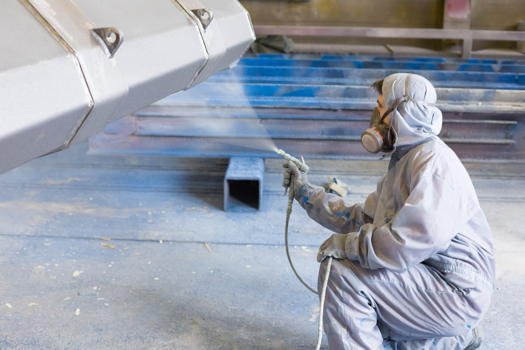 Industrial steel painting services Victoria